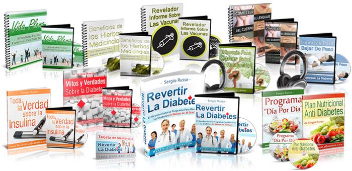cuanto cuesta el libro revertir la diabetes de sergio russo